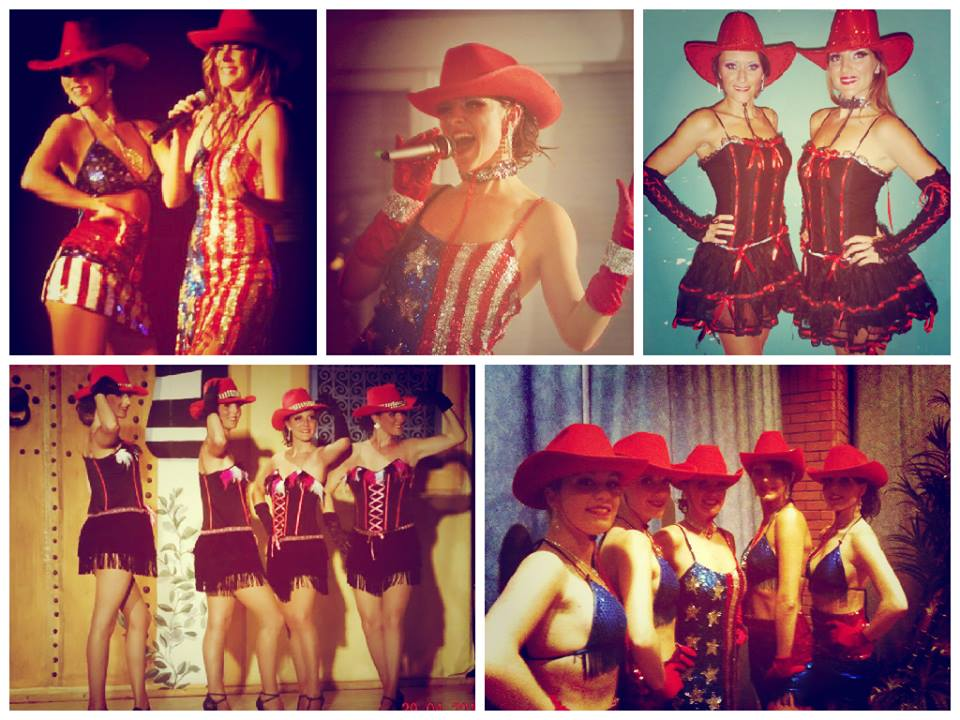 spectacles country danseuses country cabaret lille nord de paris belgique
