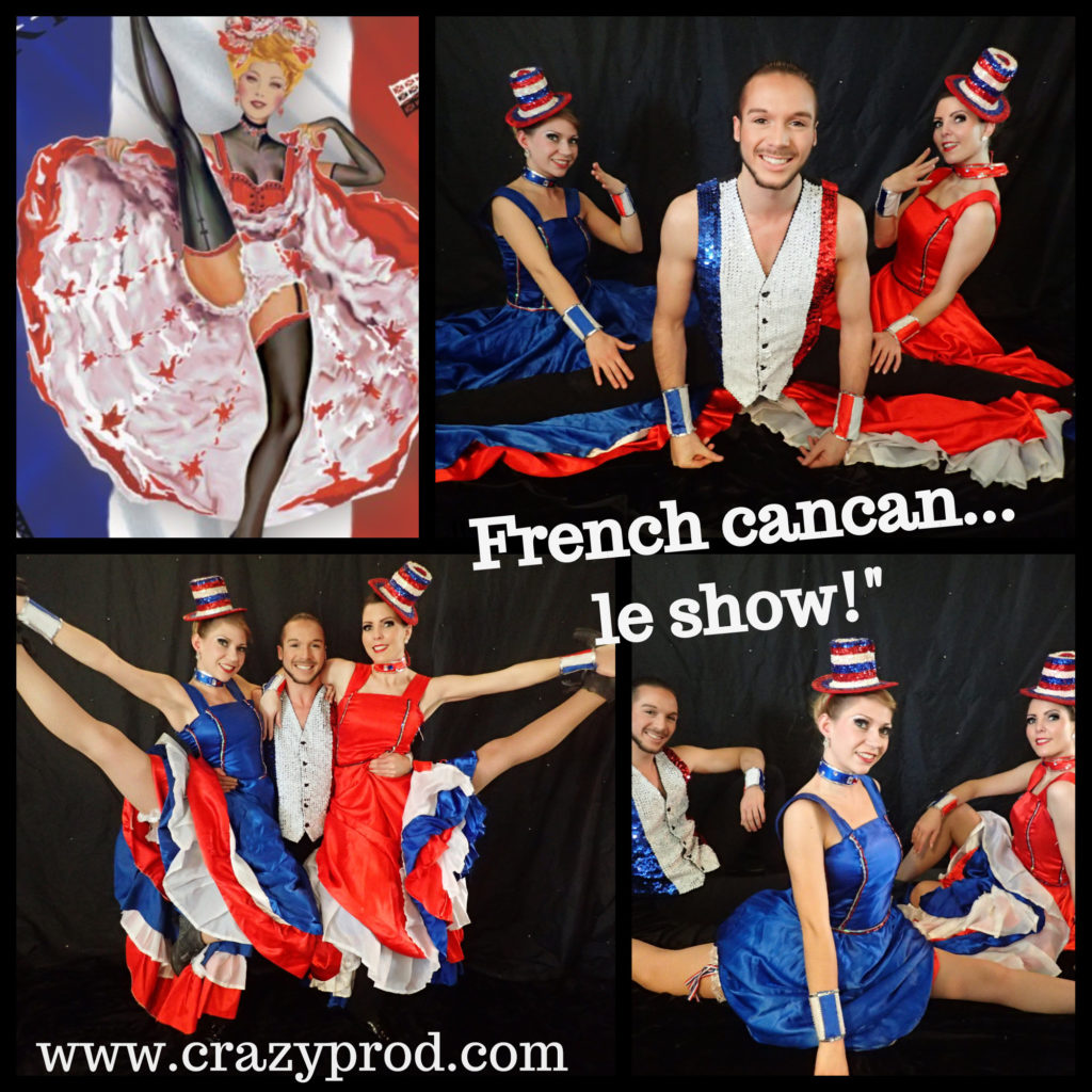 crazyprod french cancan le show danseuses cancan